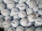 Golfballen gebruikt/lakeballs Wilson mix AAAA klasse 50 stuks.