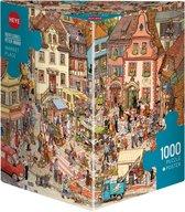 Heye legpuzzel Market Place van Göbel / Knorr, 1000 stukjes