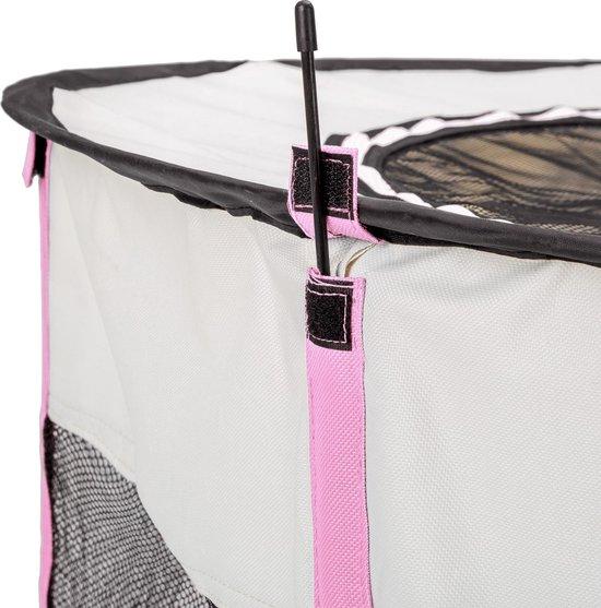 TecTake -  Puppyren Carola roze (Ø x H): 114 x 58 cm - 402437