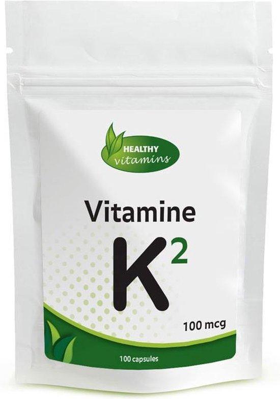 Vitamine K2 - 100 capsules