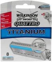 Wilkinson Quattro Titanium Mesjes Next G