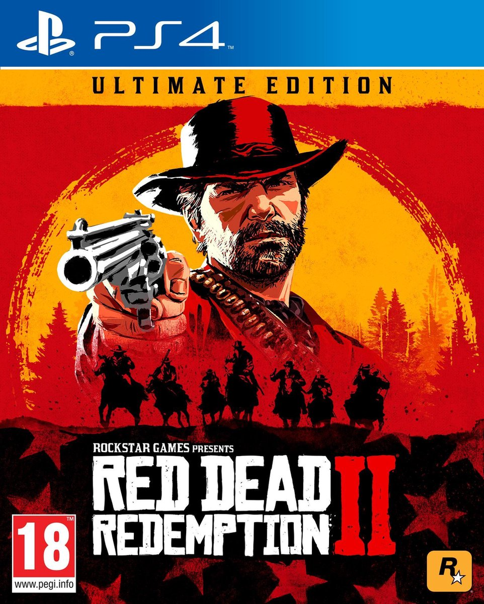 Red Dead Redemption 2 - Ultimate Edition - PS4 - Merkloos