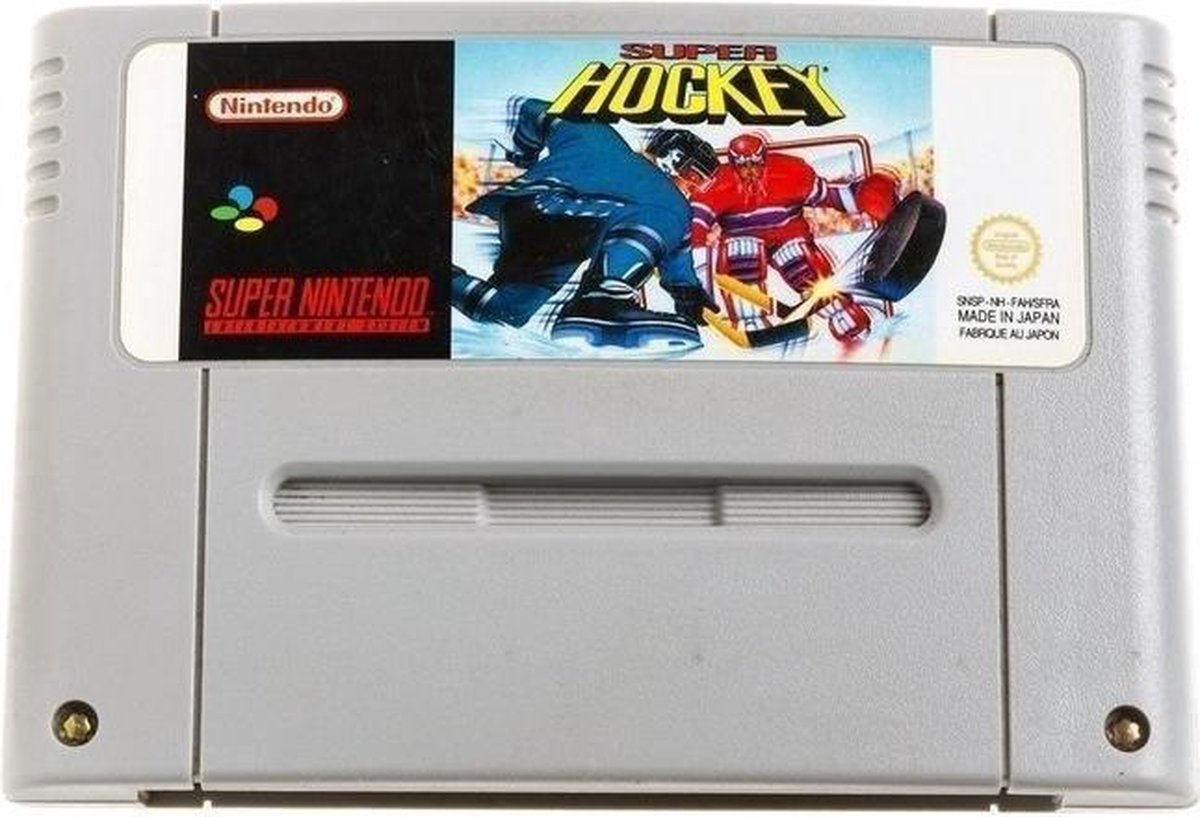Super Hockey - Super Nintendo [SNES] Game PAL - Nintendo