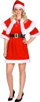 dressforfun - Vrouwenkostuum kerstvrouw XXL  - verkleedkleding kostuum halloween verkleden feestkleding carnavalskleding carnaval feestkledij partykleding - 300485