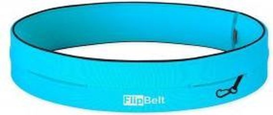 Flipbelt Classic Lichtblauw - Running belt - Hardlopen - XS