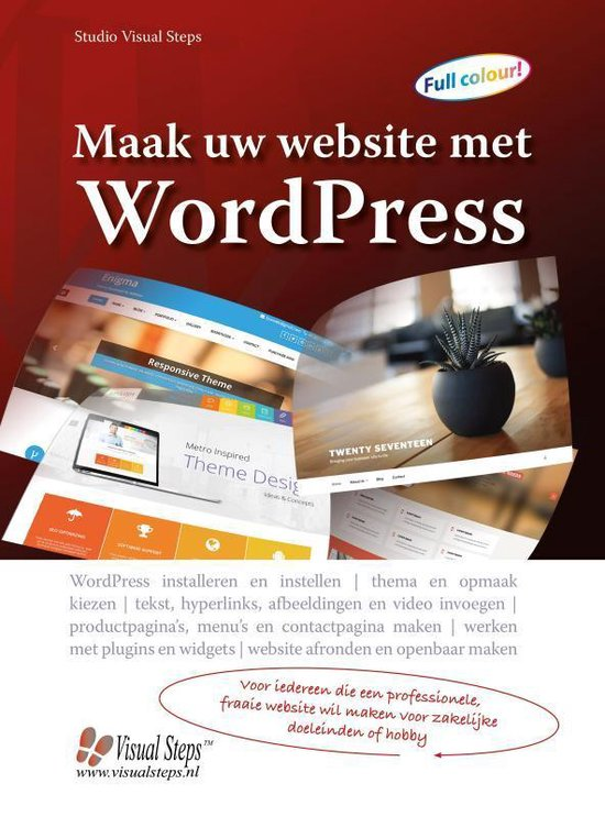 Maak uw website met WordPress - Studio Visual Steps |