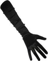 Zwarte gala handschoenen