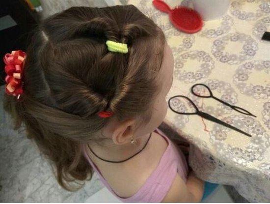 Haar style hulpstuk - Topsy Tool - Styling tool haarclip Lus invlechten