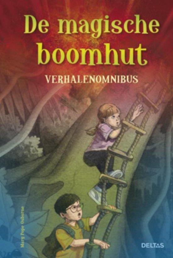 Cover van het boek 'De magische boomhut verhalenomnibus' van M. Pope Osborne
