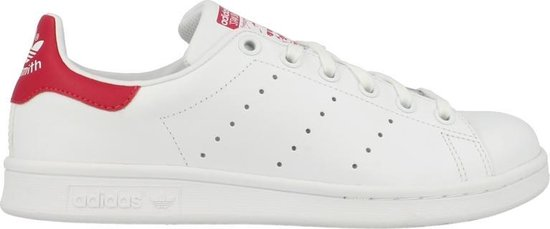 bol.com | adidas STAN SMITH J B32703 Wit maat 39