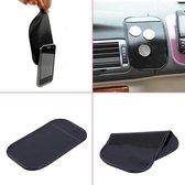 Telefoon dashboard auto anti slip mat zwart - Sticky