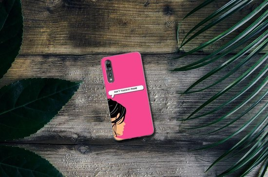 Huawei P20 Pro Uniek TPU Hoesje Woman DTMP