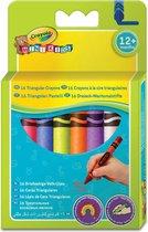 Crayola Mini Kids 16 Driehoekige waskrijtjes
