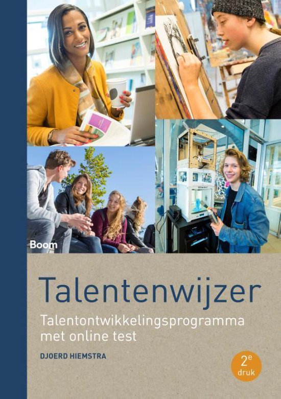 Boek cover Talentenwijzer (tweede druk) van Djoerd Hiemstra (Paperback)