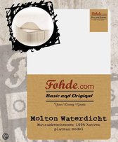 Fohde - Molton - Waterdicht - 90x200cm - Plateau
