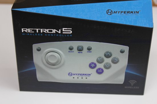 Hyperkin RetroN 5 Bluetooth Wireless Controller Gray - Hyperkin