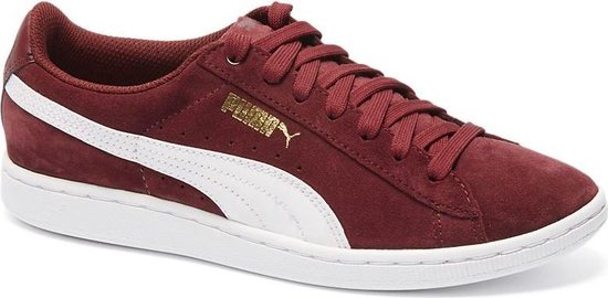 bol.com | Puma Sneakers Vikky Suede Dames Rood Maat 40