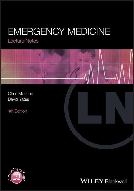 Afbeelding van Lecture Notes: Emergency Medicine