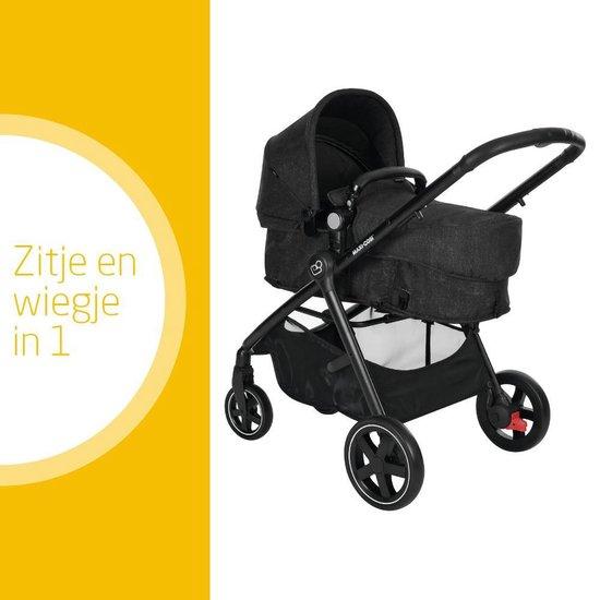 Maxi Cosi Zelia Kinderwagen - Nomad Black