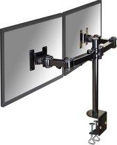 NewStar FPMA-D960D - draai- en kantelbare monitor arm - geschikt voor 2 monitoren t/m 27 inch - zwart