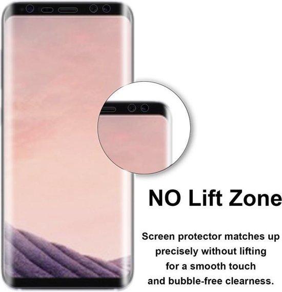 Voor Galaxy S8 / G950 0.1mm HD 3D gebogen PET Full Screen Protector