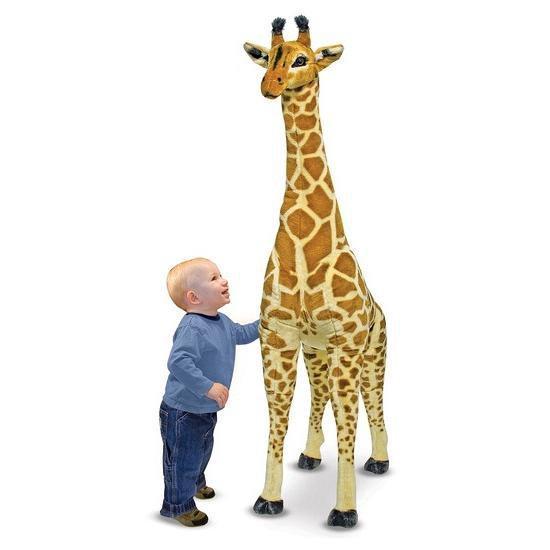 Mega giraffe knuffel 140 cm