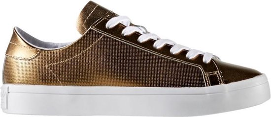 Adidas Sneakers Court Vantage Dames Goud Maat 36