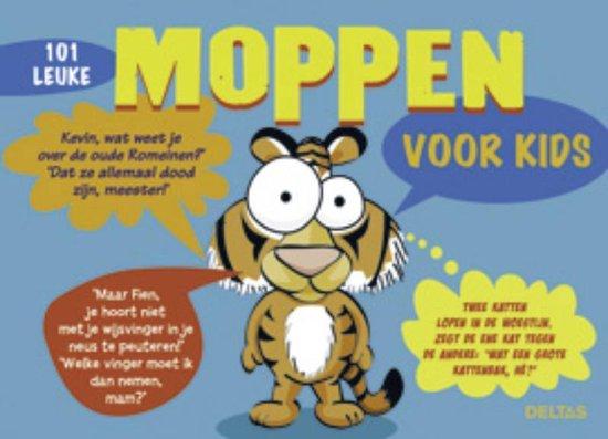 Cover van het boek '101 leuke moppen voor kids' van J. Jager