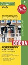 Breda plattegrond