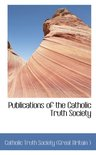 Publications of the Catholic Truth Society