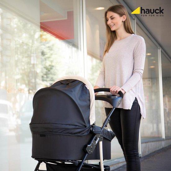 Hauck Shopper SLX Trioset Kinderwagenset - Caviar/Beige