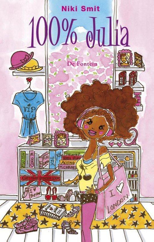Cover van het boek '100% Julia' van Niki Smit