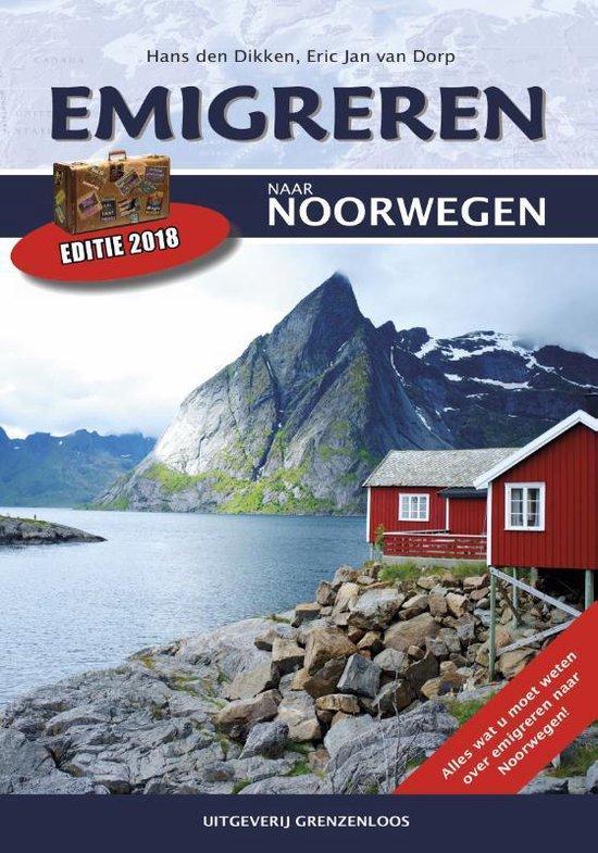 Boek cover Emigreren naar Noorwegen van Hans den Dikken (Paperback)