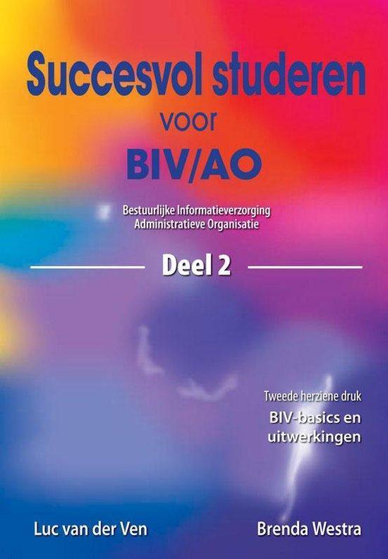 Succesvol studeren voor BIV/AO / 2 - L. van der Ven |