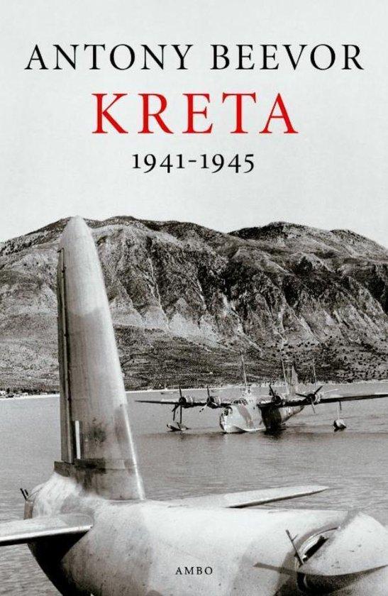 Boek cover Kreta 1941-1945 van Antony Beevor