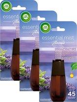 Air Wick Essential Mist Automatische Geurverspreider Luchtverfrisser - Innerlijke Rust Navulling - 3 Stuks - Voordeelverpakking