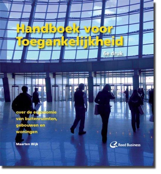 Cover van het boek 'Handboek voor Toegankelijkheid / druk 6'