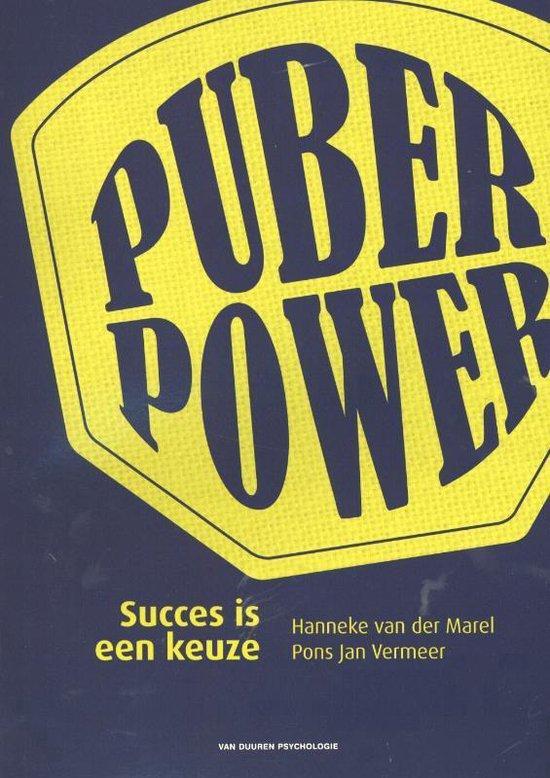 Puberpower - Hanneke van der Marel |