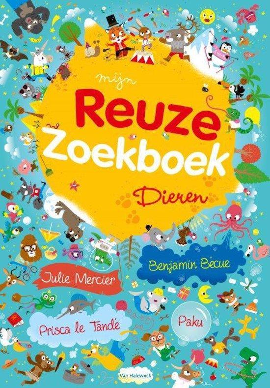 Mijn reuze zoekboek - Dieren - Benjamin Becue   Fthsonline.com