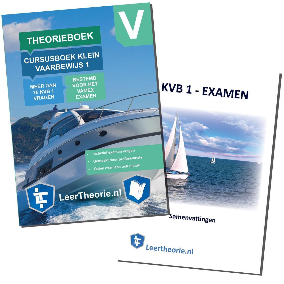 Vaarbewijs Theorieboek 2021 KVB 1 + Vaarbewijs Samenvatting   CBR Vaarbewijs Theorie Leren