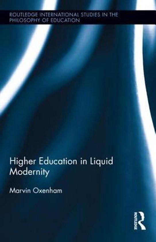 Higher Education in Liquid Modernity
