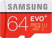 Samsung Evo+ 64GB Micro SDXC Class 10 / UHS-1 (80MB/s) - MB-MC64D