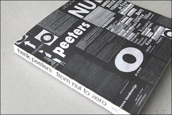 Boek cover From nul to zero van Henk Peeters (Paperback)