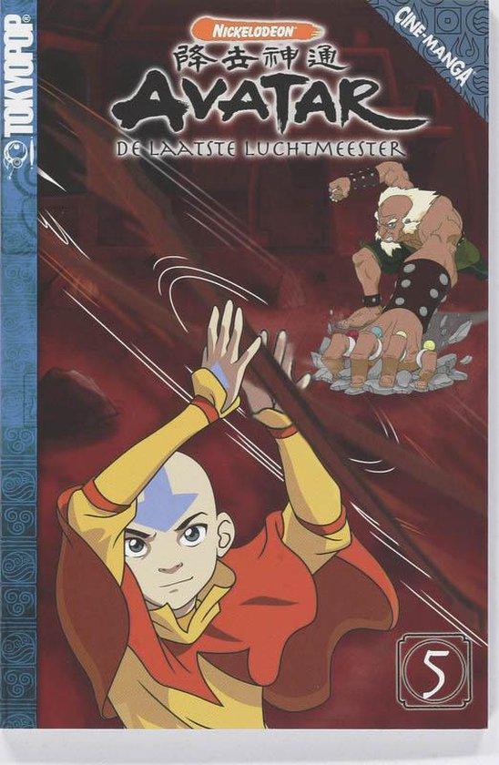 Cover van het boek 'Avatar / 5 De laatste luchtmeester'