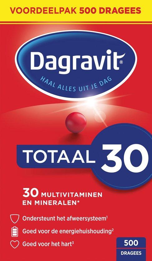 Dagravit Totaal 30 - Multivitamine - 500 tabletten