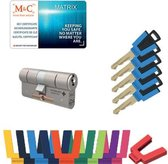 M&C Matrix set 32/32 SKG3* met 5 sleutels