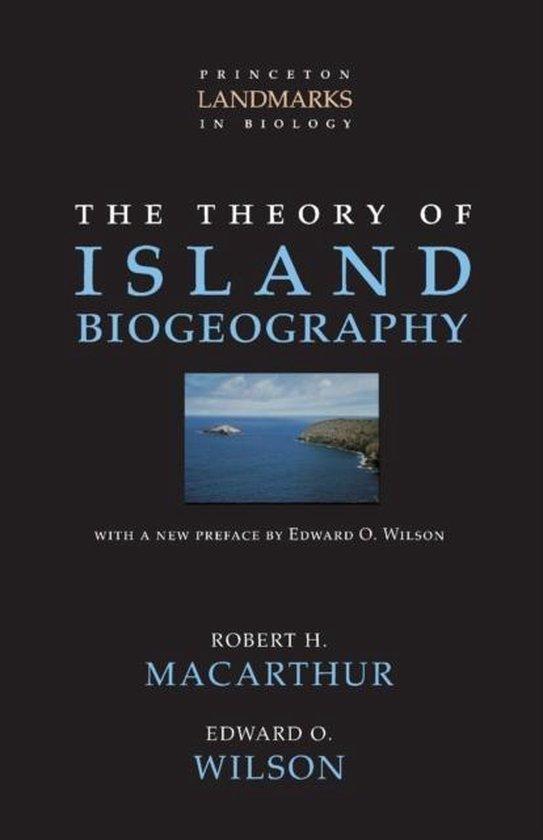 Boek cover The Theory of Island Biogeography van Macarthur, Robert H. (Paperback)