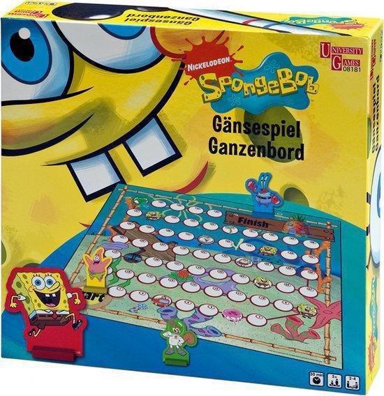 Afbeelding van het spel Spongebob Ganzenbord