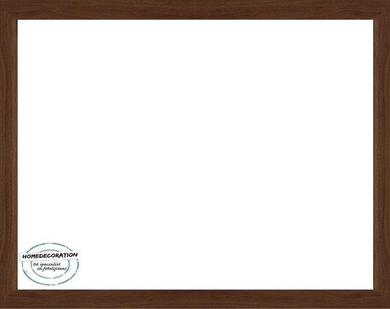 Homedecoration Misano – Fotolijst – Fotomaat – 62 x 69 cm  – Marone Bicolor