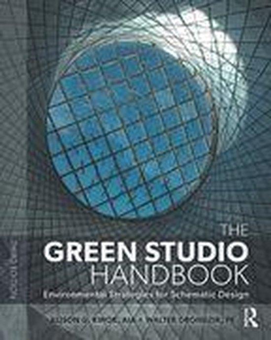 Boek cover The Green Studio Handbook van Alison G Kwok (Onbekend)